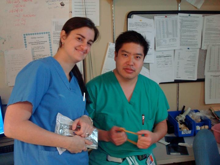 Dr. Sawatari OMFS, and Viviana Waich DDS
