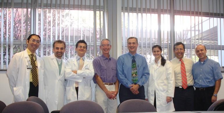 John Lindroth, DDS,Craig Miller, DMD, MS , orofacial pain resident and Viviana Waich, DDS.